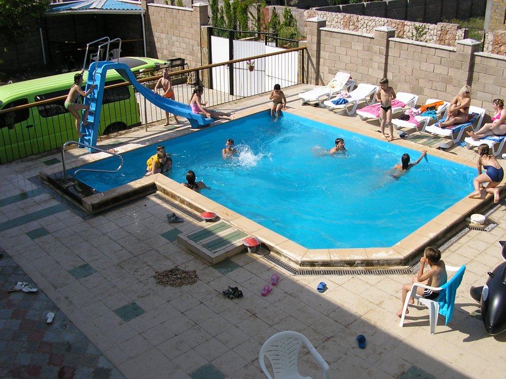 Вилла Рапаны, бассейн